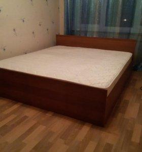 Новая крепкая двуспальная кровать 160*200 (эко М)