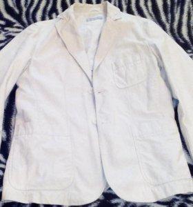 Пиджак кремовый