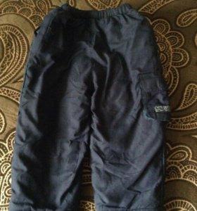 Тёплые брюки на мальчика