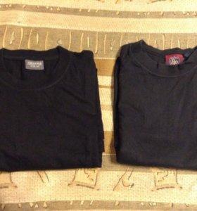 2 мужских футболки