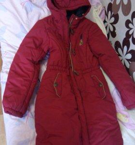 утеплёное   женское пальто
