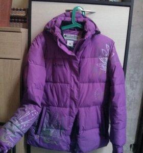 Куртка зима бу в хорошем состоянии