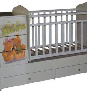 Новая кроватка-трансформер