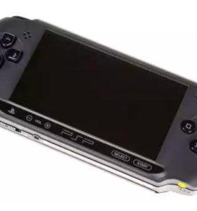 Игровая приставка Sony PSP-E1008 св (черный)