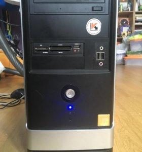 Компьютер и монитор Виндоуз 10 pro