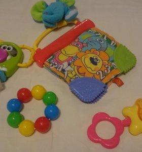 Погремушки игрушки б/у
