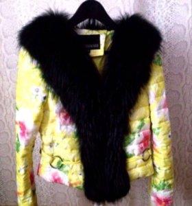 Куртка мех лиса