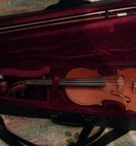 Комлект:чехол,скрипка,смычёк