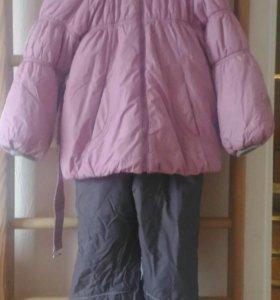 Зимний комплект Артиклайн для девочки