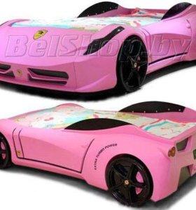 Детская кровать-машина Ferrari (Ферари)