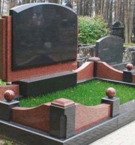 Памятники из натурального камня Гранит Мрамор