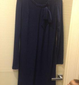 Платье для беременных шерстяное