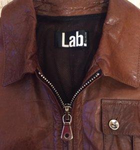 Кожаная куртка (новая) Lab Pal Zileri (оригинал).