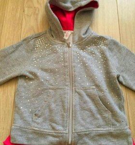 Куртка толстовка половер весна 80 86 см