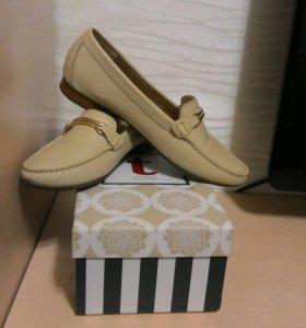 Туфли кожаные  терволина