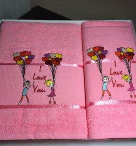 Оригинальные полотенца новые!
