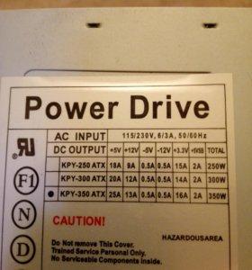 Питания блок Power Drive KPY-350 ATX