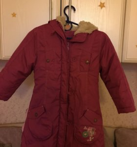 Детское пальто (110-116 рост)