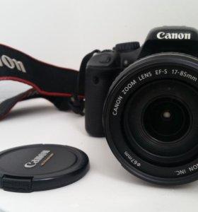 Canon 550d + 17-85 mm