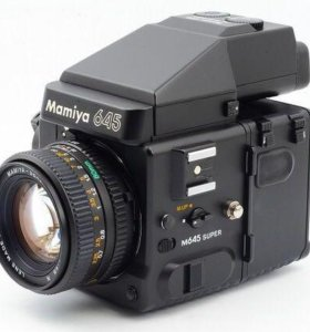 Фотоаппарат пленочный Mamiya 645 Super