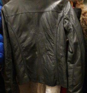 Куртка кожаная из эко кожи колинс