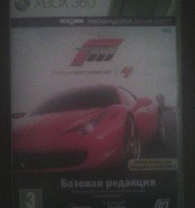 Продаю диск игра Forza Motorsport 4 для XBOX 360
