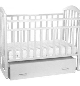 Новая кроватка Алита-4 поперечное качение