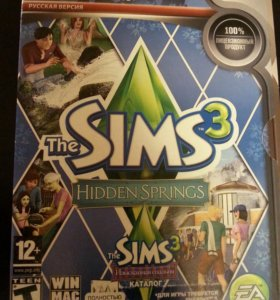 Диск игры: the SIMS 3
