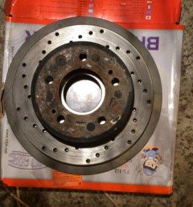 Тормозные диски задние kia sportage 3 монопривод