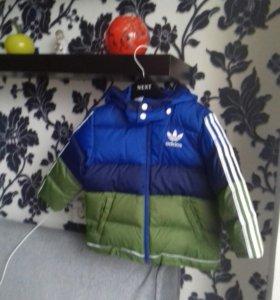 Куртка зимняя Adidas  (92см)