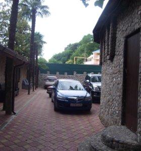 Кафе и отель в Дагомысе