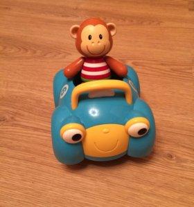 Машинка обезьянки ELC
