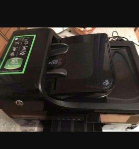 Принтер сканер Копир А4 А3 3-в-1 Officejet 8500a