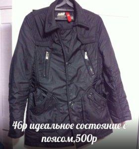 Курточка плащевка теплая
