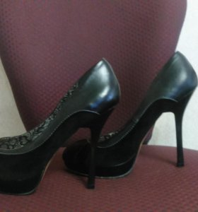 Туфли и немного замша