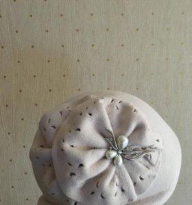 Шляпка фетровая 55-56 р