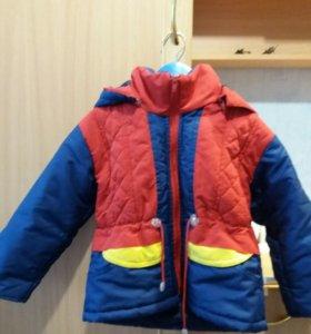Куртка на мальчика (весна-осень)