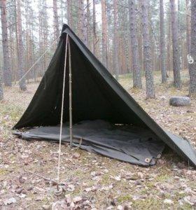 Плащ палатка армейская СССР