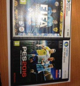 Fifa 15 и  Pes 16 для PC