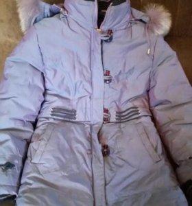 Пальто зимнее для девочки