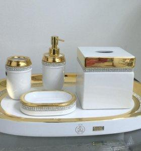 Комплект для ванной комнаты из 5 предметов