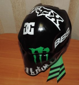 Шлем! Монстер энерджи