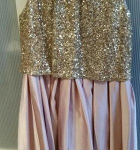 Платье для девочки 12-13 лет.