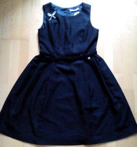 Платье fornarina 44-46 чёрное новое
