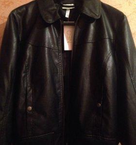 Куртка кожаная жен