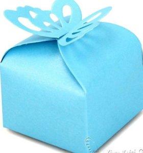 Бонбоньерки, коробочки для конфет, подарки