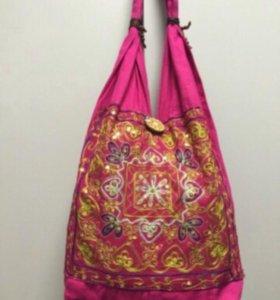 Трикотажная сумка