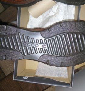 Новые летние ботинки Ecco