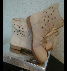 Новые ботинки!!! р.41
