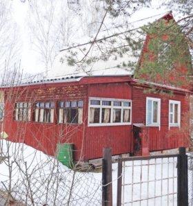 Брусовая дача 65 кв.м. Баня. Земельный участок 6 с